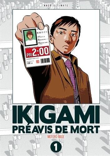Couverture Ikigami : Préavis de mort, double, tome 1