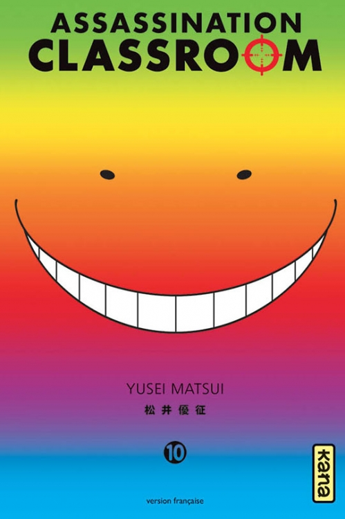 Couverture Assassination Classroom, tome 10