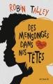 Couverture Des mensonges dans nos têtes Editions Mosaïc 2015