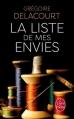 Couverture La liste de mes envies Editions Le Livre de Poche 2013