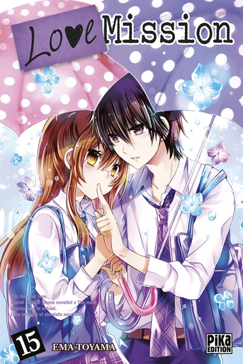 Couverture Love Mission, tome 15