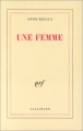 Couverture Une femme Editions Gallimard  (Blanche) 1988