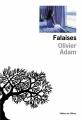 Couverture Falaises Editions de l'Olivier 2014
