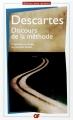 Couverture Discours de la méthode / Le discours de la méthode Editions Flammarion (GF) 2000