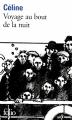 Couverture Voyage au bout de la nuit Editions Folio  2011