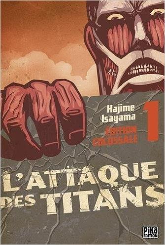 Couverture L'Attaque des Titans, triple, tome 01