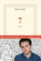 Couverture 7 : Romans Editions Gallimard  (Blanche) 2015
