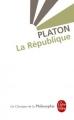 Couverture La république Editions Le Livre de Poche (Les Classiques de la Philosophie) 1995