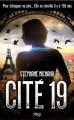 Couverture Cité 19 Editions Pocket (Policier) 2015