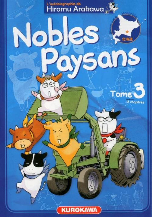 Couverture Nobles Paysans, tome 3