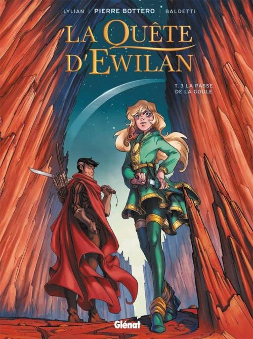 Couverture La Quête d'Ewilan (BD), tome 3 : La Passe de la Goule