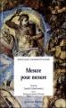 Couverture Mesure pour mesure Editions Les Solitaires Intempestifs 2008