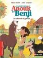 Couverture Les aventures d'Anouk et Benji : Un cheval si génial Editions Nathan 2015