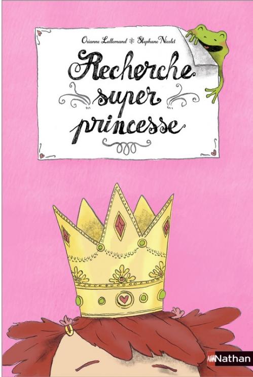 Couverture Recherche super princesse