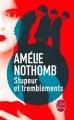 Couverture Stupeur et tremblements Editions Le Livre de Poche 2015