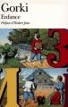 Couverture Enfance Editions Folio  (Classique) 1976