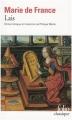 Couverture Lais / Les Lais Editions Folio  (Classique) 2000