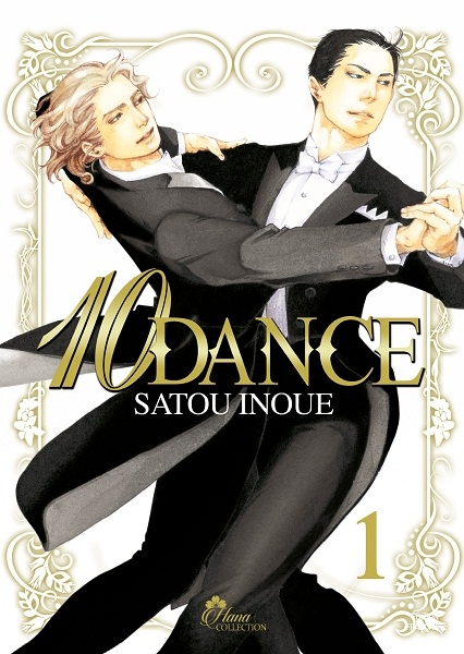 Couverture 10 dance, tome 1