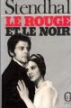 Couverture Le rouge et le noir Editions Le Livre de Poche (Classique) 1979