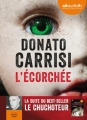 Couverture L'écorchée Editions Audiolib 2014
