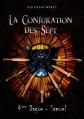 Couverture La Conjuration des Sept, tome 1, partie 4 : Quatrième Dague, Samuel Editions Autoédité 2015