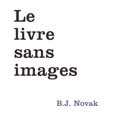 Couverture Le livre sans images