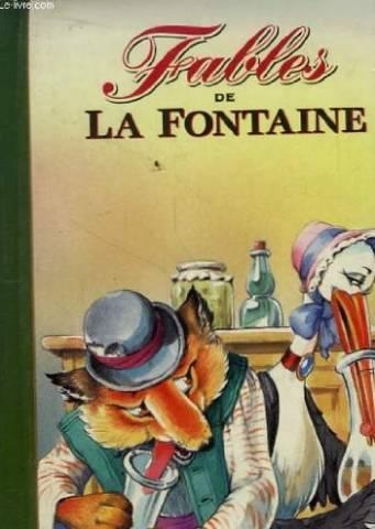 Couverture Fables de La Fontaine, tome 2