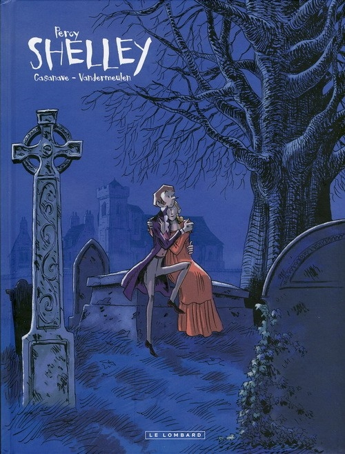 Couverture Shelley, tome 1 : Percy