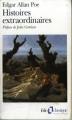 Couverture Histoires extraordinaires Editions Folio  (Classique) 2002