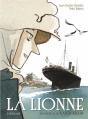 Couverture La lionne : Un portrait de Karen Blixen Editions Sarbacane (BD) 2015
