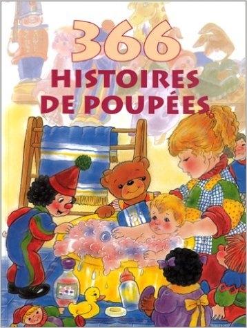 Couverture 366 histoires de poupées