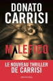 Couverture Malefico Editions Calmann-Lévy 2015