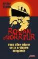 Couverture Roman d'horreur, tome 3 : Vous allez adorer cette croisière sanglante Editions Scrineo 2014