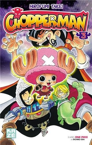 Couverture Chopperman, tome 3