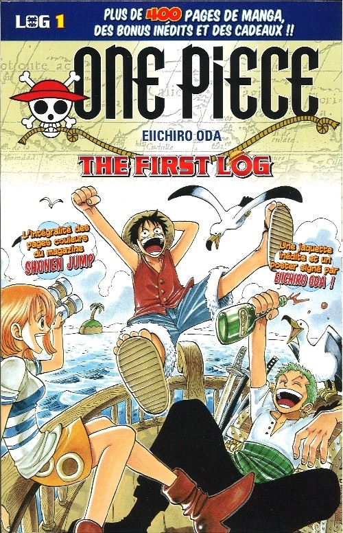 Couverture One Piece, Log, tome 01