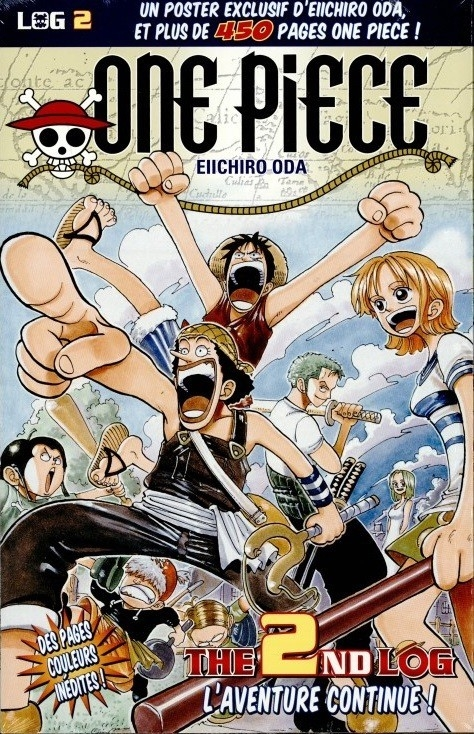 Couverture One Piece, Log, tome 02