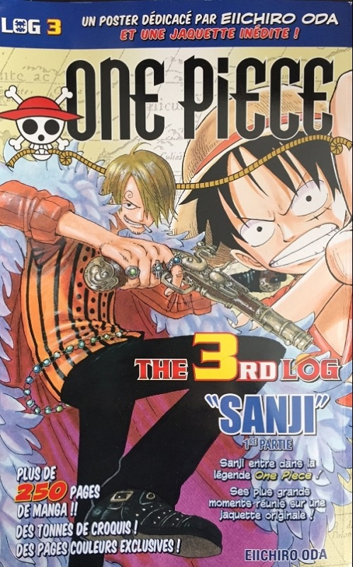 Couverture One Piece, Log, tome 03