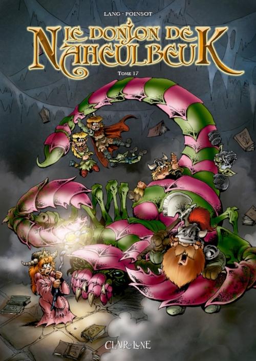 Couverture Le donjon de Naheulbeuk (BD), tome 17 : Cinquième saison, partie 4