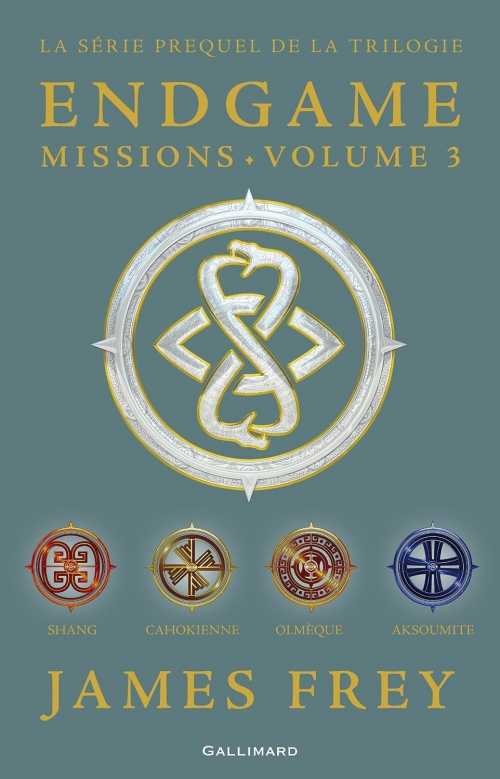 Couverture Endgame Missions, tome 3