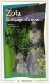 Couverture Une page d'amour Editions Flammarion (GF) 1973