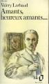 Couverture Amants, heureux amants Editions Folio  1981