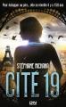 Couverture Cité 19, tome 1 Editions 12-21 2015