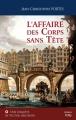 Couverture Victor Dauterive, tome 1 : L'affaire des corps sans tête Editions City 2015