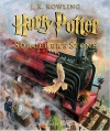 Couverture Harry Potter, tome 1 : Harry Potter à l'école des sorciers Editions Scholastic 2015
