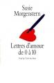 Couverture Lettres d'amour de 0 à 10 Editions L'École des loisirs 1996