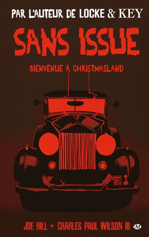 Couverture Sans issue : Bienvenue à Christmasland
