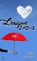 Couverture L'énigme 2 + 0 = 3, tome 1 Editions Sharon Kena (Romance) 2015