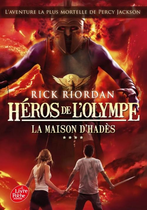 Couverture Héros de l'Olympe, tome 4 : La maison d'Hadès