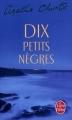 Couverture Dix Petits Nègres Editions Le Livre de Poche 2015