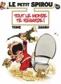 Couverture Le Petit Spirou, tome 17 : Tout le monde te regarde ! Editions Dupuis 2015